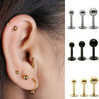Cool Surgical Steel Bar Earring Stud Tragus Cartilage Barbell Lip Nail Natural