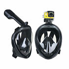 180˚ Full Face Scuba Diving Mask Snorkel Swimming Goggles Under Water Anti-fog