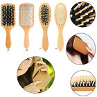 Paddle Hair Care Brush Wooden Massage Comb Scalp Stress Release Beauty Tool New