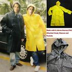 Внешний вид - New Mens Rain Coat Heavy Duty Long PVC Rain Wear/Rain Jacket Sizes:M, L, XL, 2XL