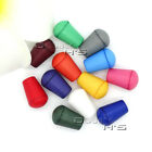 Colorful Plastic Bell Stopper With Lid Cord Ends Lock Stopper For Paracord 5mm