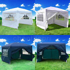 Outdoor 10'X10' Canopy EZ POP UP Tent Gazebo Wedding Party  Shelter Carry Bag