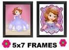 💗 Sofia Pictures 5x7 Princess Bedroom Wall Hangings Girls Room Home Decor