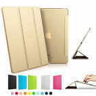 Ultra Slim Magnetic Leather Hard Back Matte Smart Case Cover for iPad air Mini