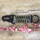 Handmade Firefighter Lanyard. Clip Keyring Paracord Survival Key Chain