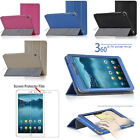 PU Leather Case Folio Cover Stand For Huawei MediaPad T1 8.0 Tablet + Film