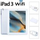 Apple iPad 3rd Gen Wi-Fi 16GB/32GB/64GB 9.7in 5MP Camera Tablet PC White/Black