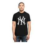47 BRAND NEW Mens Black NY Yankees Knockaround Club Tee BNWT