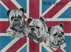 WE'RE READY BRITISH BULLDOG UNION JACK VINTAGE STYLE WAR METAL PLAQUE SIGN 434