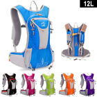 12L Light Weight Close-Fitting Hydration Pack Running Camping Hiking Backpack