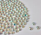 Crystal AB hot fix / iron on / glue on Rhinestone Diamante AAAA4A quality