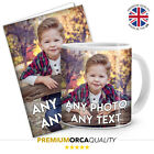 Premium Quality Personalised Custom Photo Mug & Card Gift Set Coffee Tea Cup