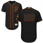 Buster Posey San Francisco Giants Mens FlexCoolBase Black Home Game Jersey