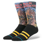 STANCE SOCKS Mens Black Stance Iron Maiden Socks - Black  BNWT