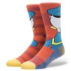 STANCE NEW Mens Red Disney Socks Donald Duck BNWT