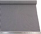 Black White Stripe 100% Cotton High Quality Fabric Material *3 Sizes*