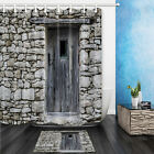 modern country style decorating - Rustic Decor Collection Wooden Door China Country Style Shower Curtain set 72