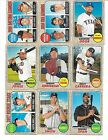 2017 Topps HERITAGE BASE CARD 1-200 U PICK FROM LIST COMPLETE YOUR SET