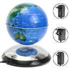 World Map Tellurion Led Magnetic Levitation Globe Floating C Shape Light Home