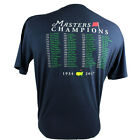 Masters Golf T-Shirt 2017 BLUE Augusta National Champions M - XXL Pre-Order Now