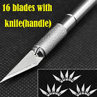 Exacto Knife + 5-16-20 blades #11 X-acto Hobby Multi Tool Crafts Cutting Style