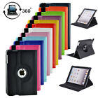 360 Rotating Shockproof PU Leather Smart Case Stand Cover For iPad Mini 1 2 3