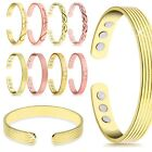 Latest Unisex Magnetic Copper Bracelet Healing Bio Therapy Pain Relief Bangle