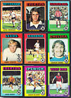 Topps Footballers 1975 (red/grey back) - choose your number