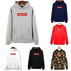 Women Men Supreme Hoodie Pullover Sweatshirt Sweater Long Sleeve Hooded Jumper