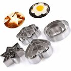 Star Heart Flower Round Cookie Cutter Stainless Steel Pastry Baking Mold CAKE
