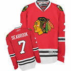 Reebok Brent Seabrook Chicago Blackhawks Red Jersey