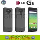 PUREGEAR Slim Shell Hard Ultra Transparent Slim Thin Impact Case Cover for LG G6