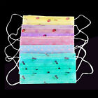 HA 50PC Cute Disposable Medical Surgical Dust Ear Loop Face Mouth Women Mask