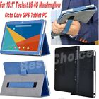 "Print PU Leather Folio Case Cover for 10.1"" Teclast 98 4G Octa Core GPS Tab PC"