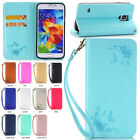 Printed Stand Wallet Flip PU Leather Phone Case Cover For Samsung Galaxy Phone