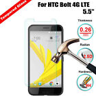 9H Premium Tempered Glass Screen Protector Film Guard For HTC Bolt 4G LTE 5.5""