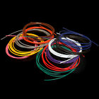 30AWG UL1007 Tinned Copper PVC Electronic wire cable (Black/Red//Blue/Green/Pink