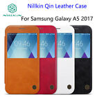 Nillkin Qin Smart Window Leather Flip Cover Case for Samsung Galaxy A5 (2017)