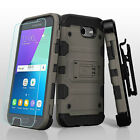 Samsung GALAXY Hybrid Impact Armor Rugged Rubber Hard Case Cover Holster Screen