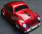 2.4G wireless Classic Volkswagen VW beetle car optical mouse mice for Laptop PC