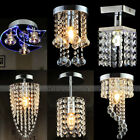 Luxury Chandelier Style Ceiling LED Light Shade Pendant Acrylic Crystal UK Ship