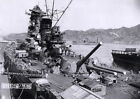 Japanese battleship Yamato under construction, 1943 WWII