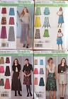Simplicity 1782, 2257, 2449, 2516   Misses Skirts Asst. Styles/Sizes  You Pick!