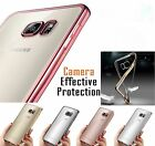 For Samsung Galaxy S8 Plus S8 Ultra-Slim Clear Silicone Gel Back Case Skin Cover