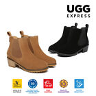 UGG Boots Sylvia - Ladies Fashion Slip On,  Australian wool lining