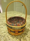 1997 Decorative Longaberger Inaugural Combo Basket Liner and Protector
