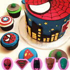 batman cupcake cake walmart - 3D Spiderman Silicone Fondant Cake Decorating Chocolate Baking Mold Mould Tools