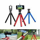 Universal Adjustable Octopus Tripod + Phone Holder for iPhone Samsung Sony