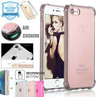 iPhone 6 7 Plus 5S Case Ultra Thin Clear TPU Bumper Shockproof Cover For Apple