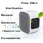 Mini Air Purifier Home Activated Carbon Filter Formaldehyde Haze PM2.5 Fresh Air